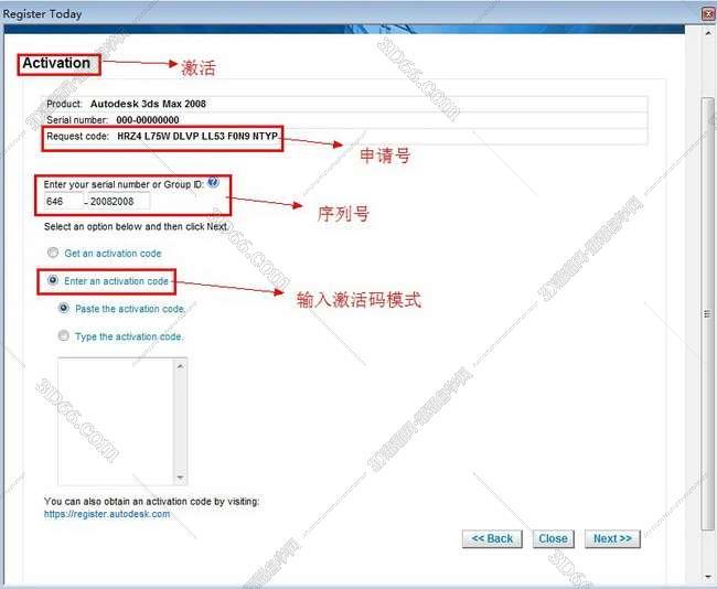 3dmax2008【3dsmax2008】官方英文版安装图文教程、破解注册方法图十九