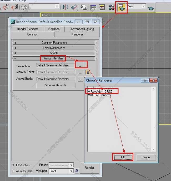 vray1.5【adv 1.5 rc5 for max2008】渲染器(32位)中(英)文版安装图文教程、破解注册方法图十六