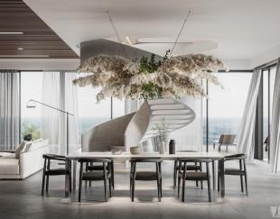 现代别墅餐厅