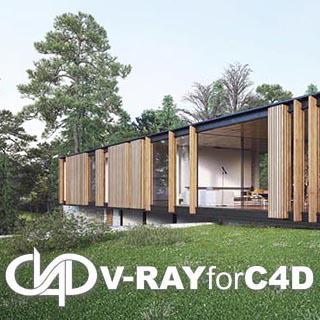 VRay3.6 for C4D【支持r18/r19】(64位)破解版渲染器