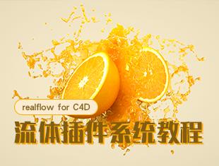 Real<esred>fl</esred>ow for C4D流体插件系统教程