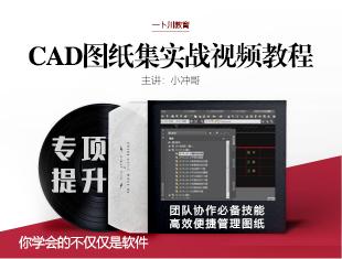 <esred>CAD</esred>图纸集实战教程