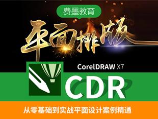 CorelDRAW X7平面广告设计零基础入门到精通实战课程