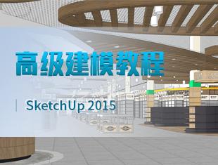 SketchUp草图大师<esred>2015</esred>高级建模教程