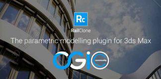 3DsMax参数化建模插件:RailClone Pro v3.2.0+Library For 2013-2019