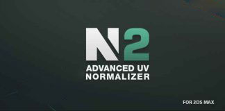3dsMax规范贴图密度插件Advanced UV Normalizer V2.3.0 For 2010-2018