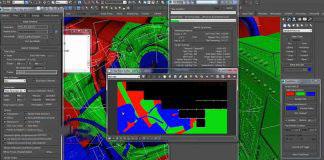 3DMax随机颜色脚本FasteIDPass v1.0 For Max 2009 – 2015