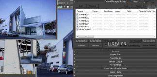 3DsMax支持摄像机多预设批渲染插件Batch Render V1.10.2b For 2008-2017