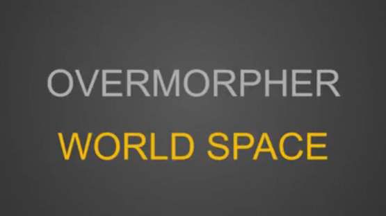 3DsMax无敌动画插件KinematicLab OverMorpher World Space For 2016-2017