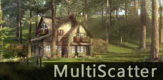 MultiScatter For 3DsMax v1.3.6.10强大数组阵列代理插件[支持2010-2017]