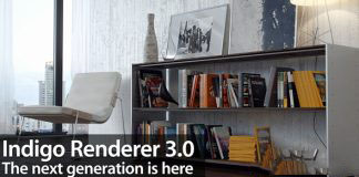 模拟光的物理渲染器Indigo Renderer v4.0.42 For C4D/Max/Blender Win x64