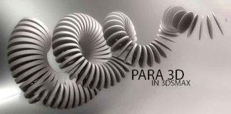 3DMax参数化阵列建模插件Parametric Array Para 3D v4.75 For Max 2011-2016 Win 64bit
