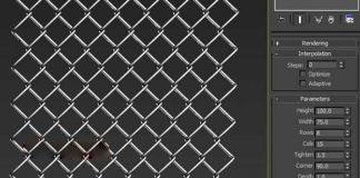 3DMAX MCG Wire Fence v1.01铁丝网快速生成
