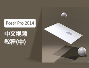 Poser Pro 2014中文视频教程(中)