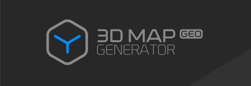 Photoshop三维地图生成器插件:3D Map Generator Pro专业版