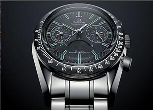 C4D欧米茄金属手表渲染---阿诺德渲染器