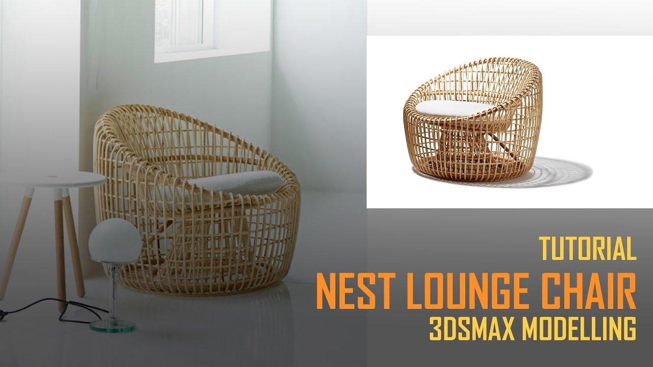 3DMax鸟巢椅建模教程
