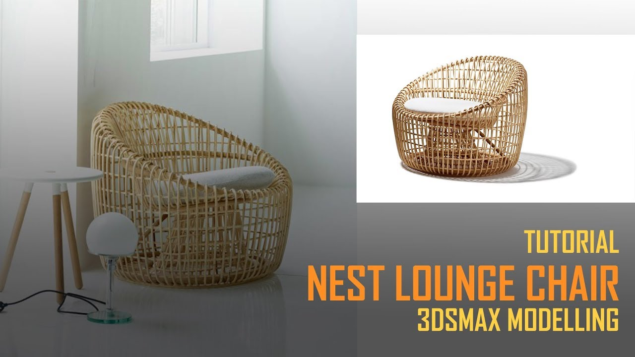 3dsMax  建模教程鸟巢椅