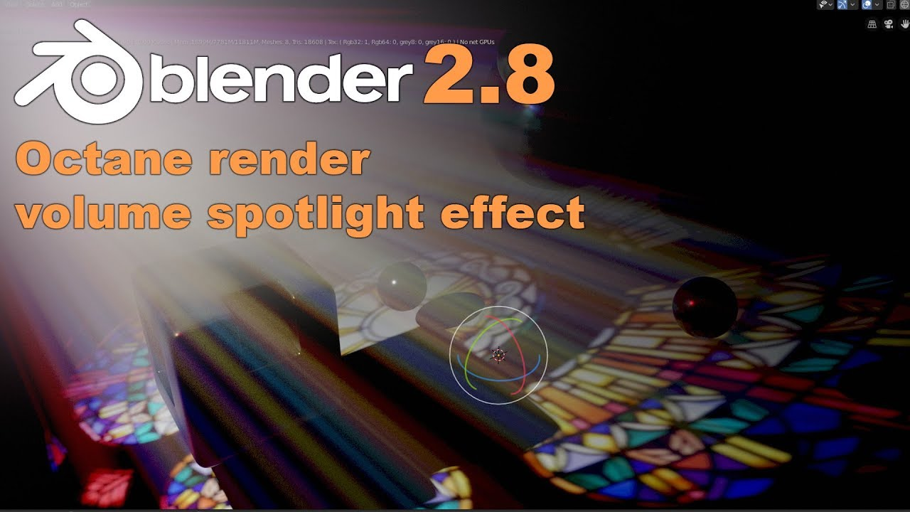 Blender 2.8+Octane渲染初学者入门教程