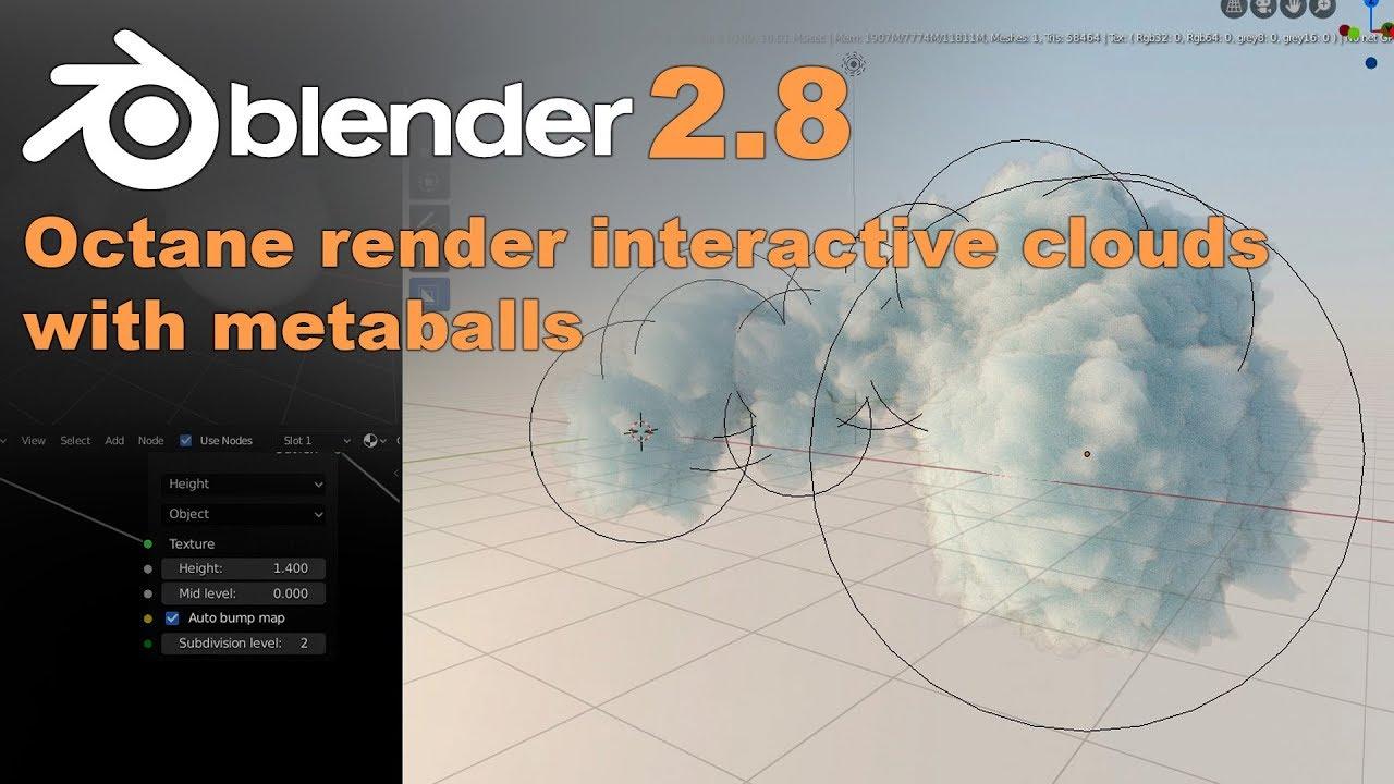 Blender2.8新手Octane渲染教程
