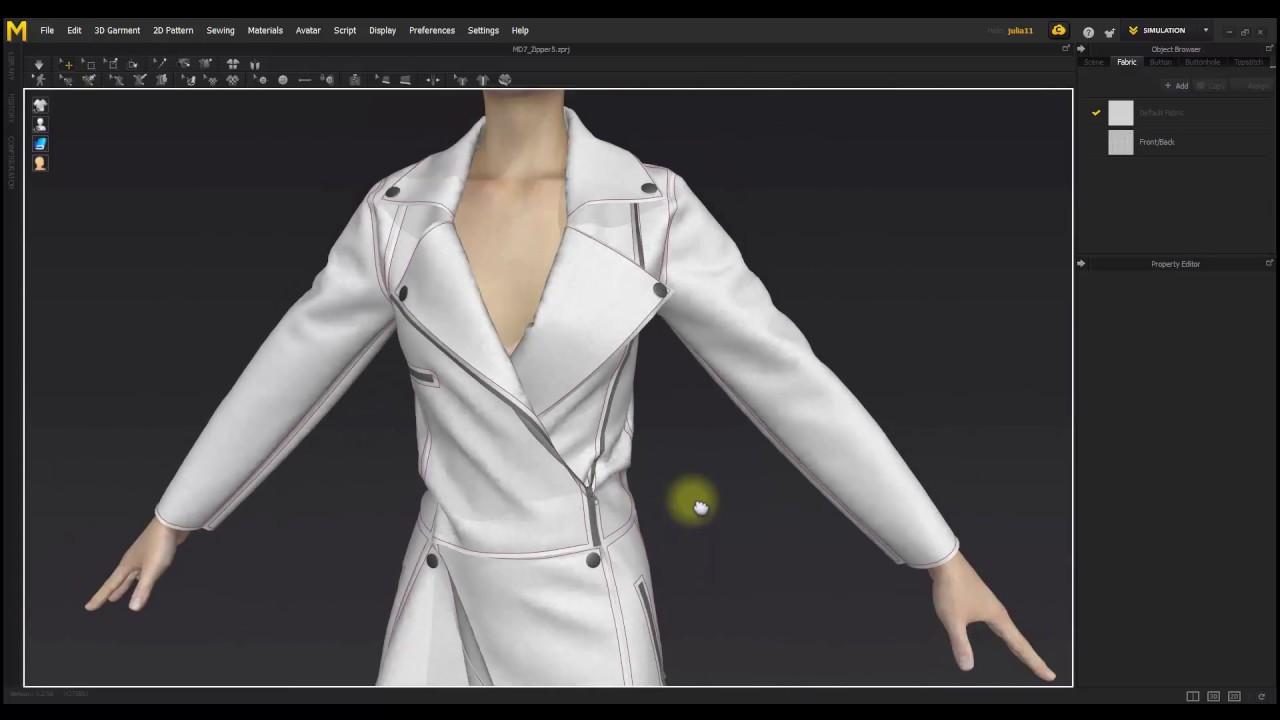 3dmax衣服拉链制作教程