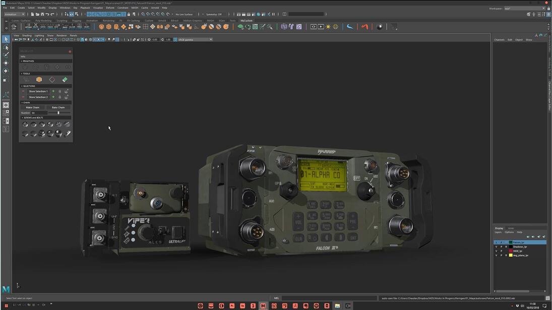 Maya硬表面建模插件:ModIt v2.0+使用教程