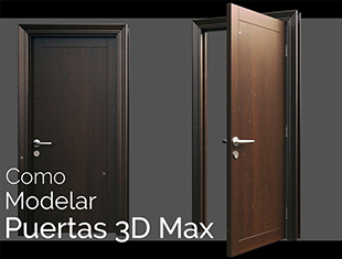 3DMax简单门制作教程