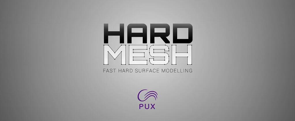 Maya硬表面建模插件:HardMesh V2.2+使用教程