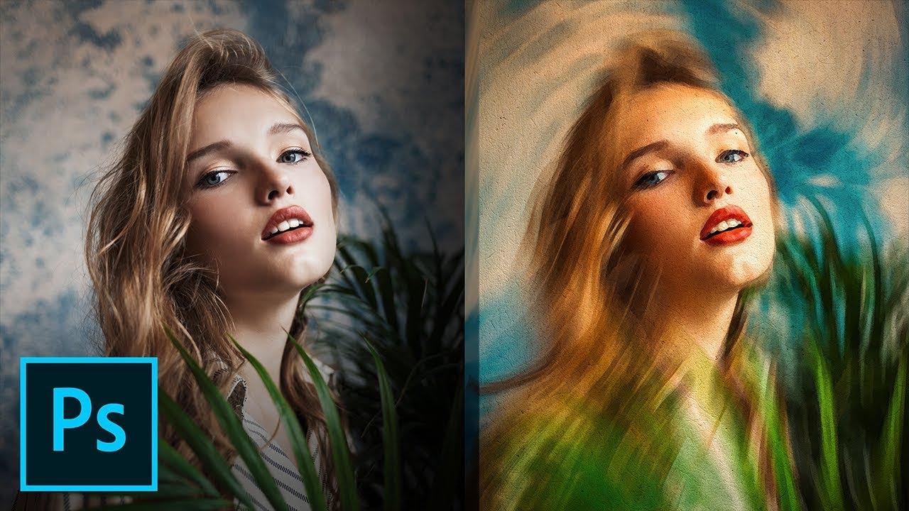 PS照片绘画效果制作教程