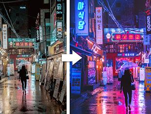 如何在Photoshop中为照片提供赛博朋克外观