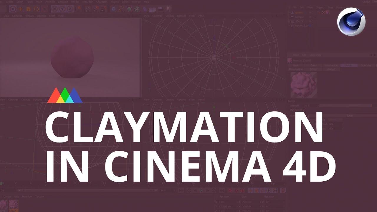 在Cinem 4D中创建一部克莱姆风格的动画