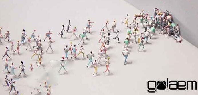 Maya角色人群模拟动画插件:Golaem Crowd v5.3.4.1