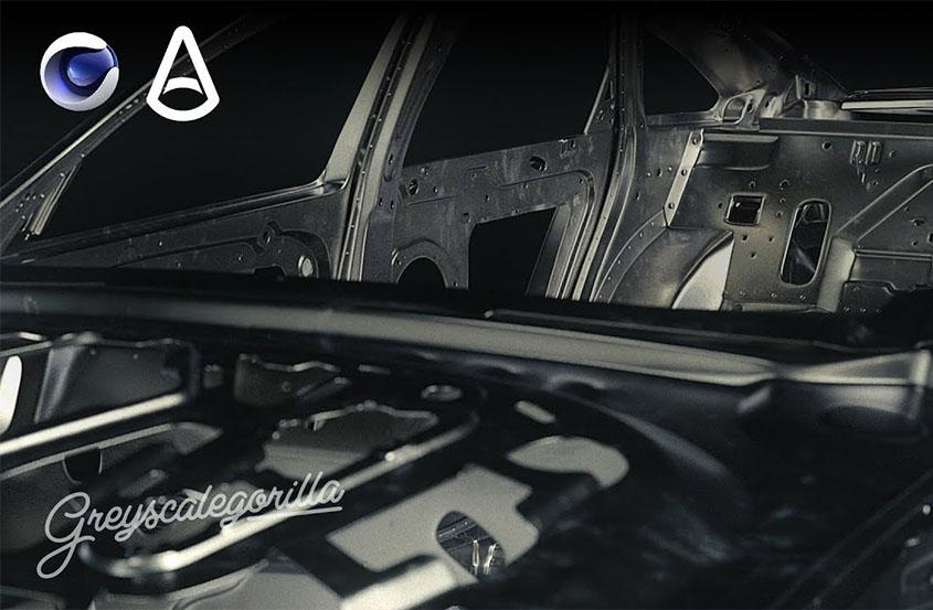 Arnold for CINEMA 4D金属表面照明表现教程