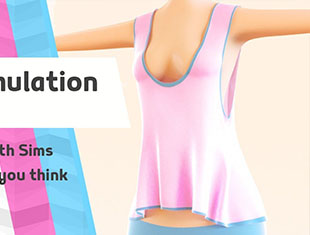 C4D衣服布料模拟教程