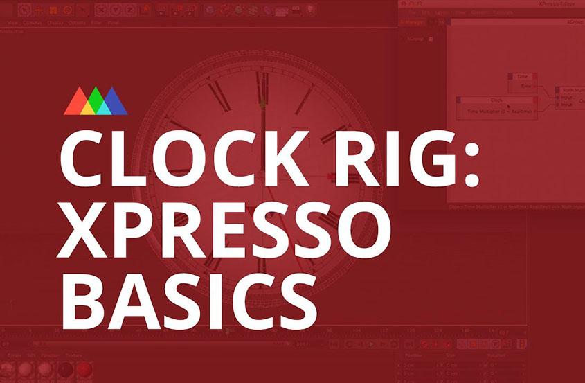 在Cinem 4D中使用Xpresso创建一个时钟场景