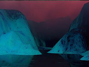 C4d教程-如何使超现实科幻景观与 Octane 纹理