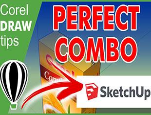 CorelDraw完美结合Sketchup建模教程