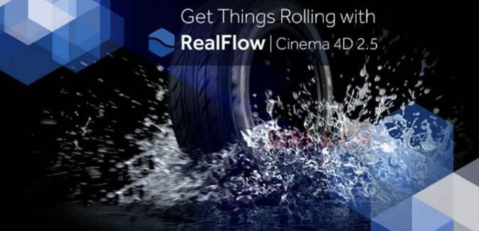 C4D内置流体插件:RealFlow C4D v3.1.1.0026