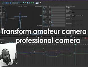 Cinema 4D教程-把业余摄像机改造成专业