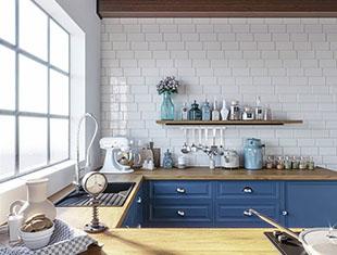 3DMax蓝色厨房建模教程