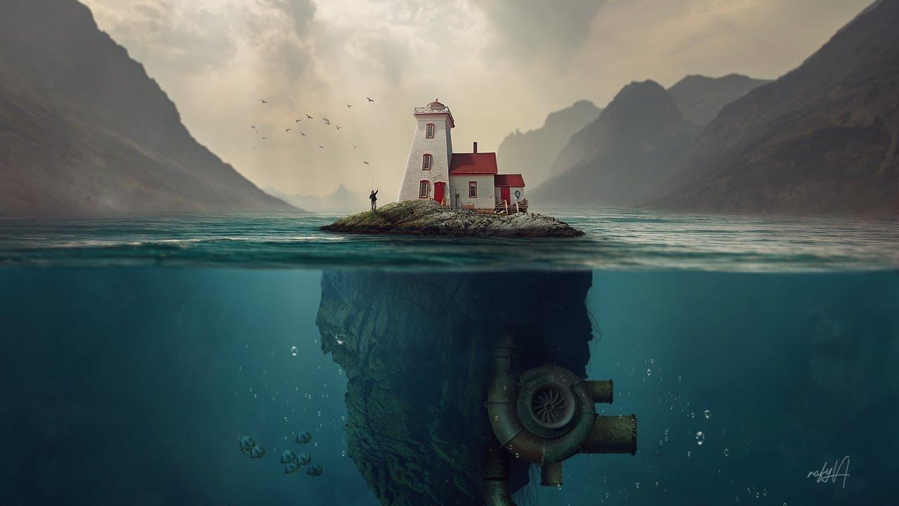 豪斯岛水下照片操纵Photoshop教程—无字幕讲解