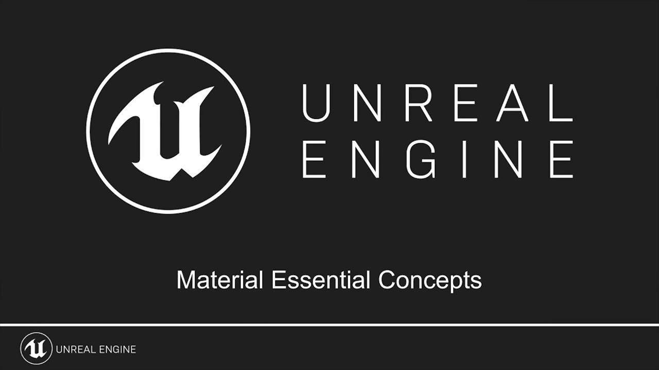 UE4材料基本概念教程