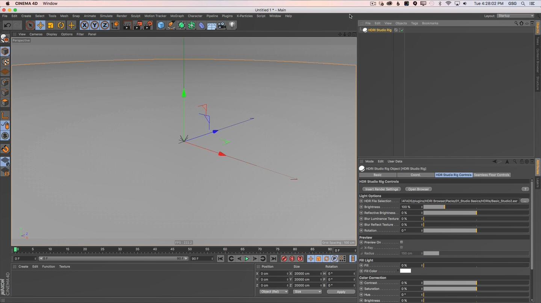C4D照明插件:HDRI Studio V2.147