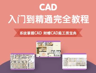 CAD入门到精通完全教程