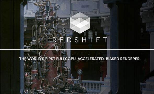 C4DRS渲染器一键安装汉化版插件:Redshift 2.5.46