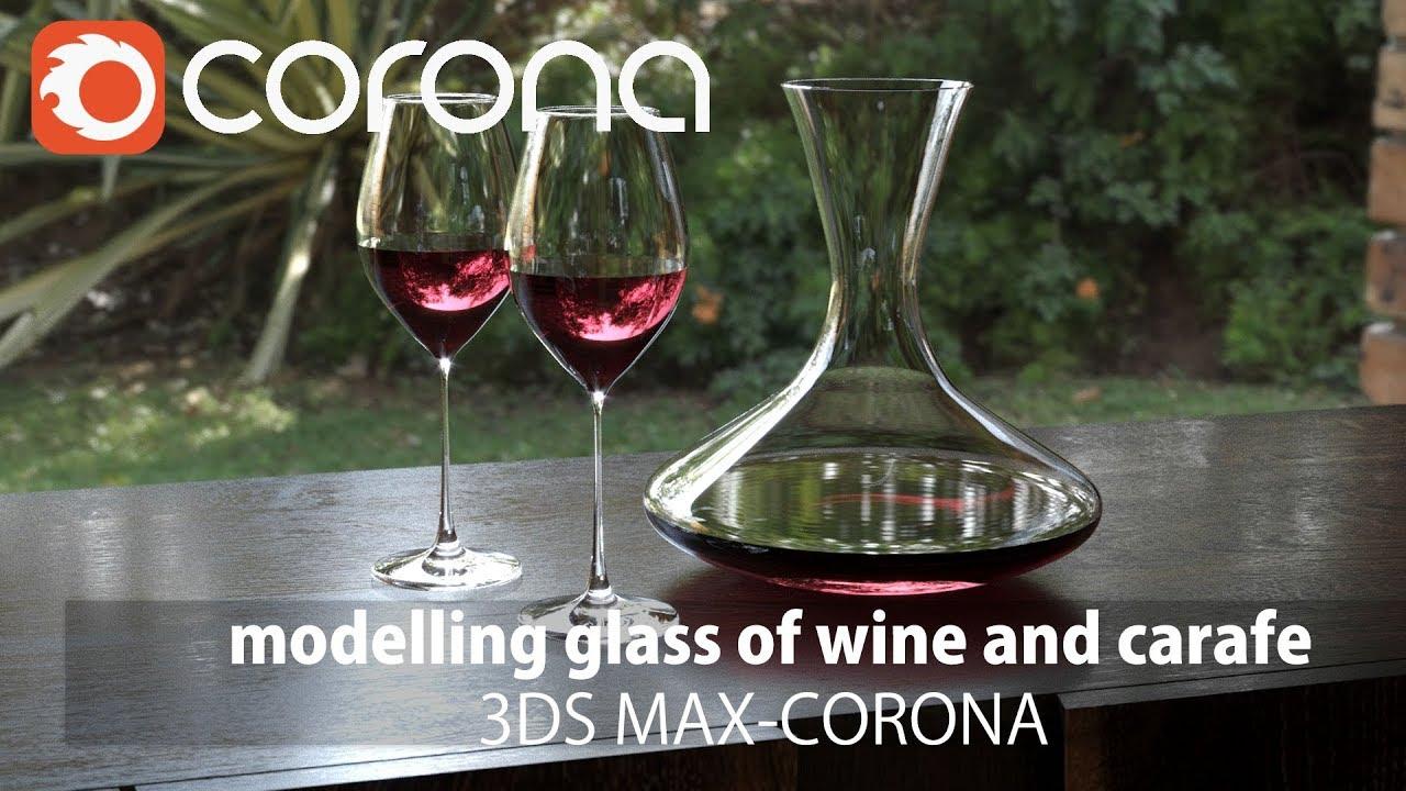 <esred>3</esred><esred>DMax</esred>制作一杯葡萄酒<esred>和</esred>卡拉菲建模<esred>和</esred>CR渲染讲解