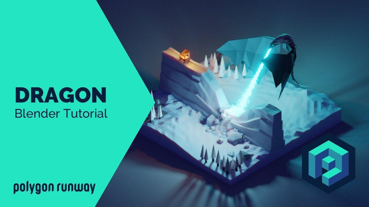 Blender 2.8低聚3D Modeling与渲染教程