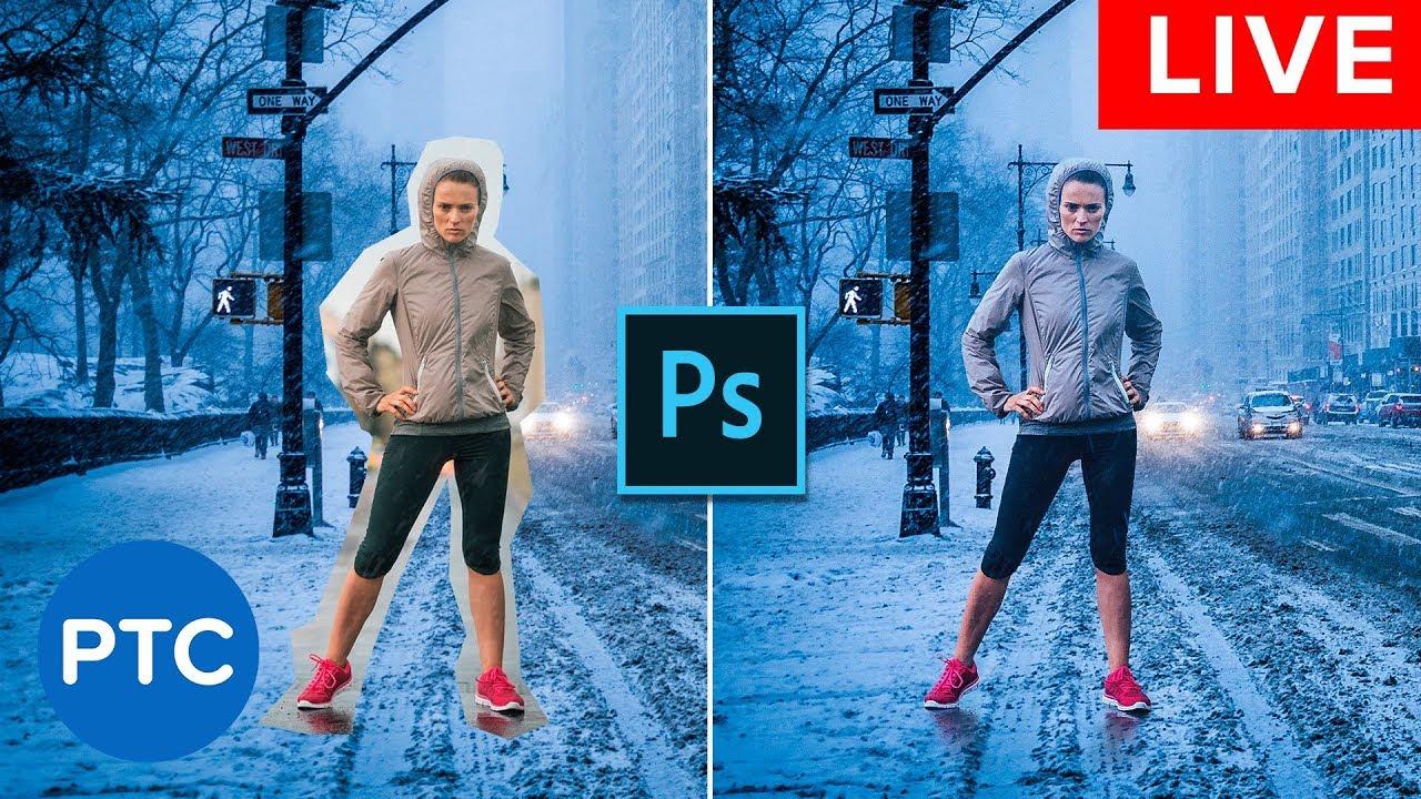 PS照片图像混合教程