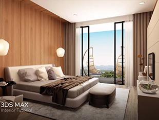 中级-卧室室内教程 3Ds Max 2018 ( Photoshop )—无字幕讲解