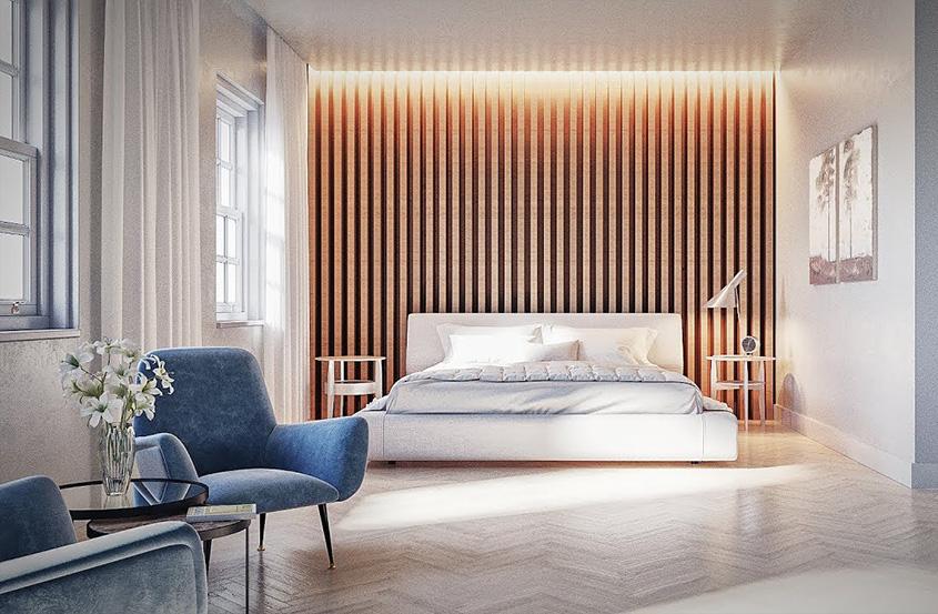3DMax+Corona渲染器现代卧室建模与渲染教程